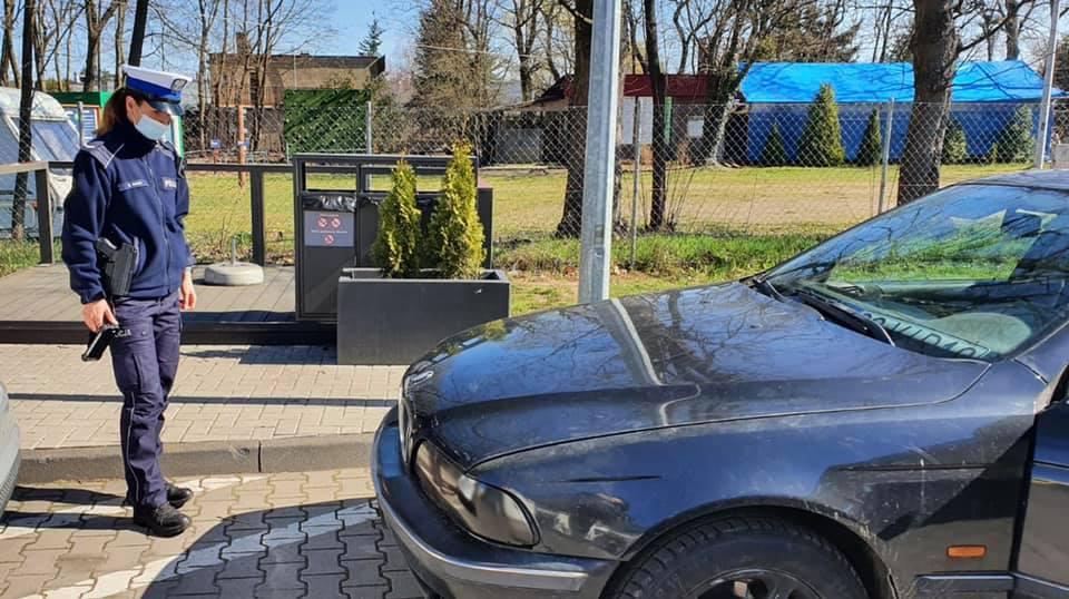 Policja skontrolowała BMW w Kobylnicy