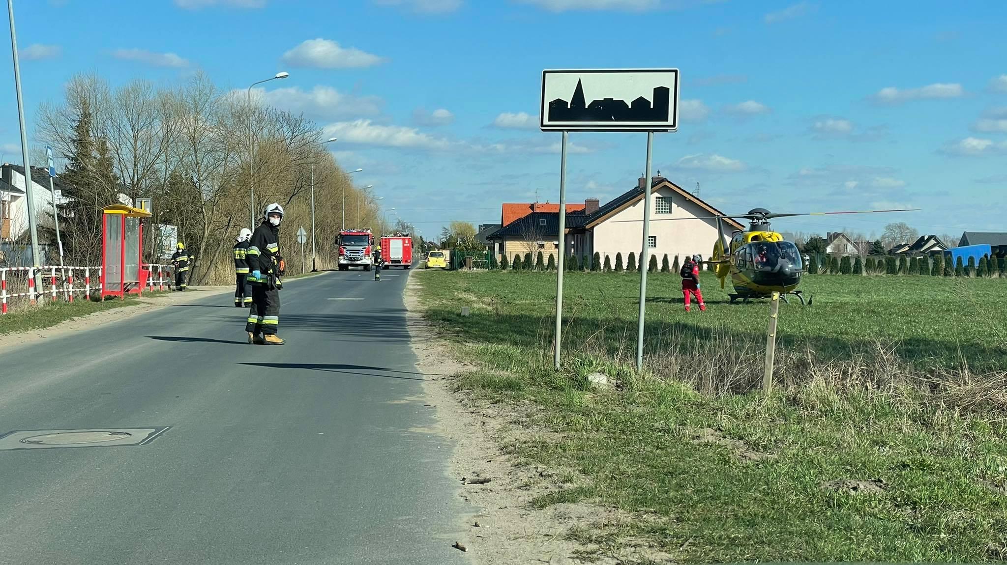 Śmigłowiec LPR lądował w Rabowicach