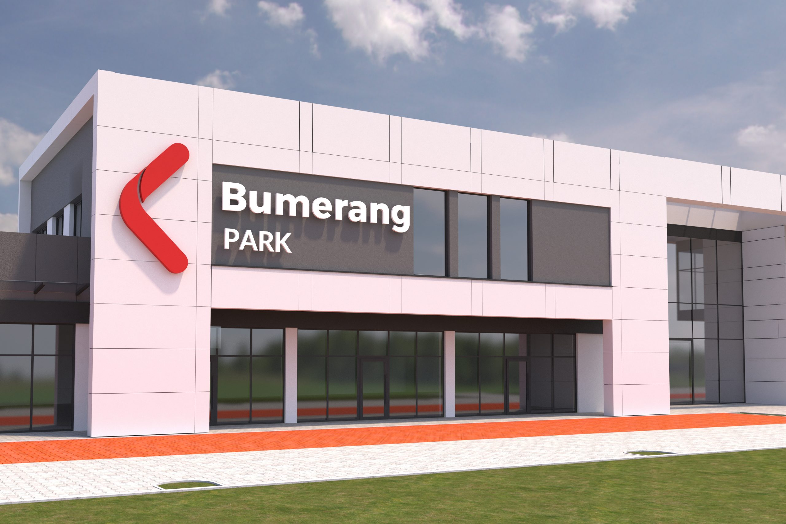 Tak będzie wyglądać galeria Bumerang Park w Zalasewie