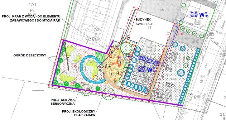 Projekt parku edukacji ekologicznej w Rabowicach
