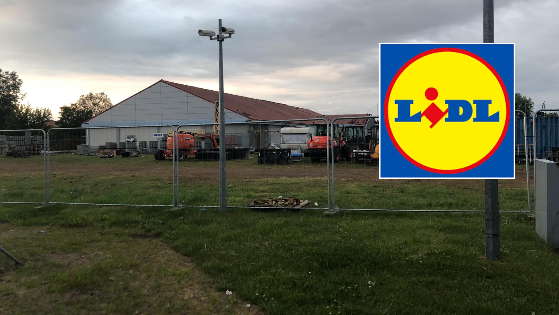 Remont marketu Lidl w Swarzędzu potrwa do lipca
