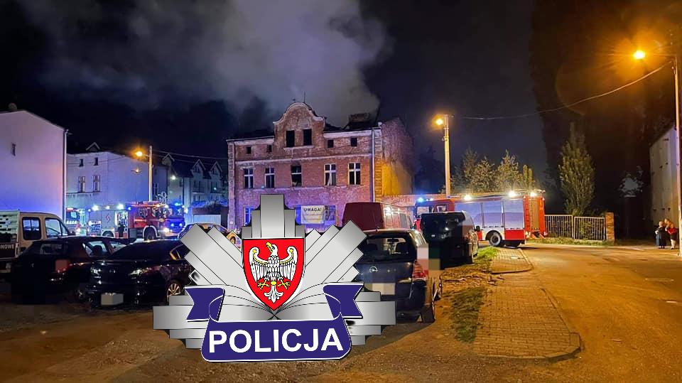 Policja zajmuje się sprawą serii pożarów w Swarzędzu